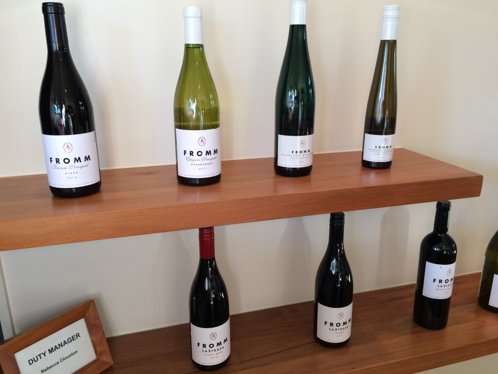 Fromm pinot pioneers in Marlborough
