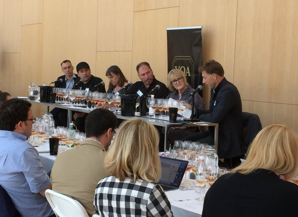 Terroir Symposium - Orange Wine Panel