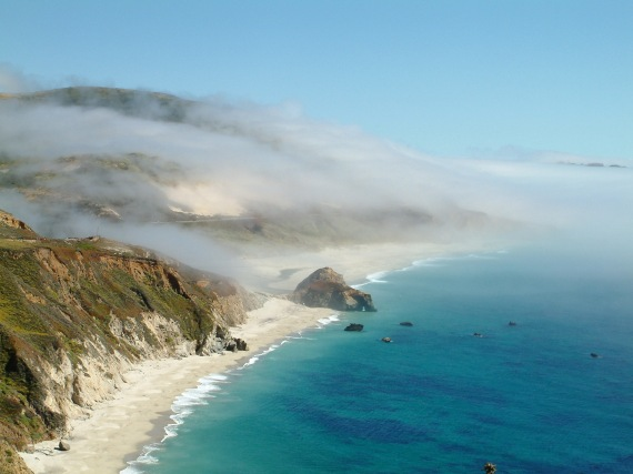 marine layer fog