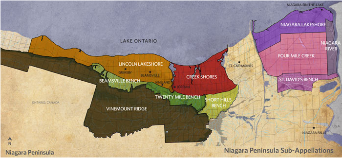Niagara-Peninsula-Sub-Appellations