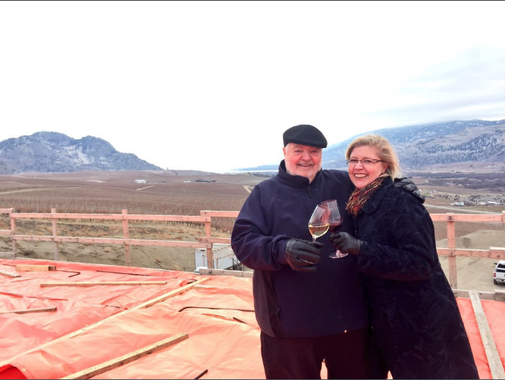 Harry and Christa TIME winery construction