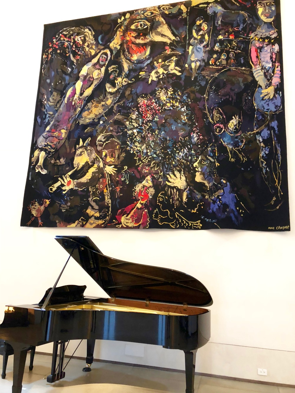 Chagall and David Foster piano