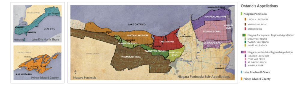 Ontario's Appellations White Book Map - p16