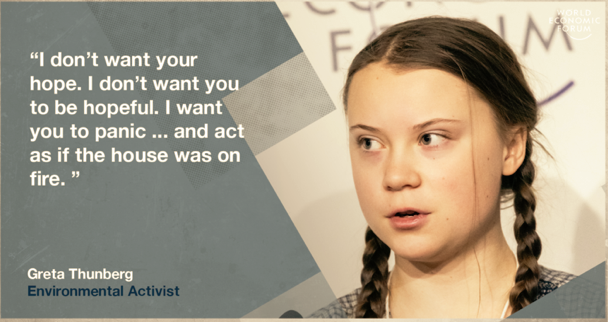 Greta Thunberg - weforum.org