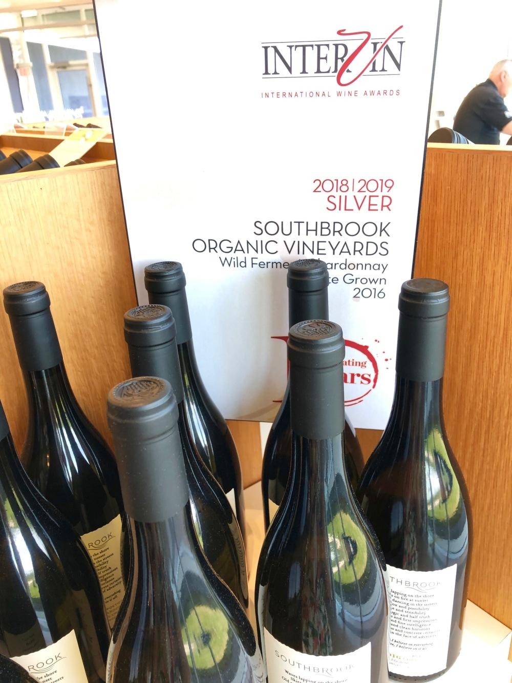Southbrook Vineyards Intervin award amustreadblog