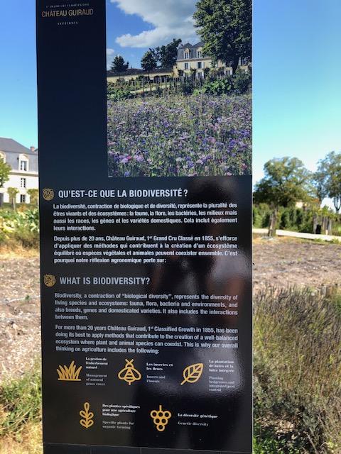 amustread Biodiversity Chateau Guiraud