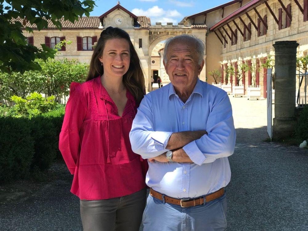 Alfred and Justine Tesseron