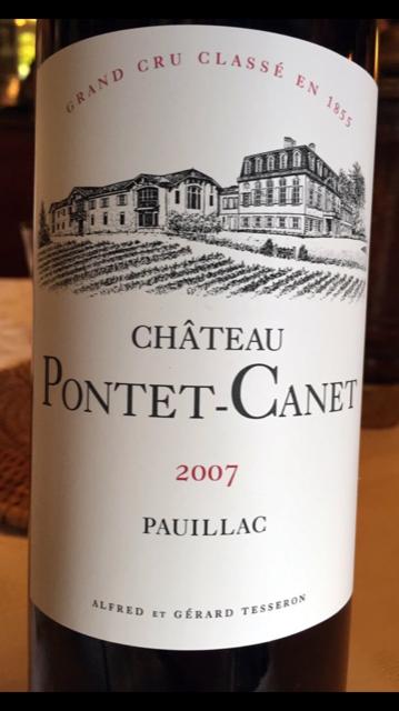 Pontet Canet 07