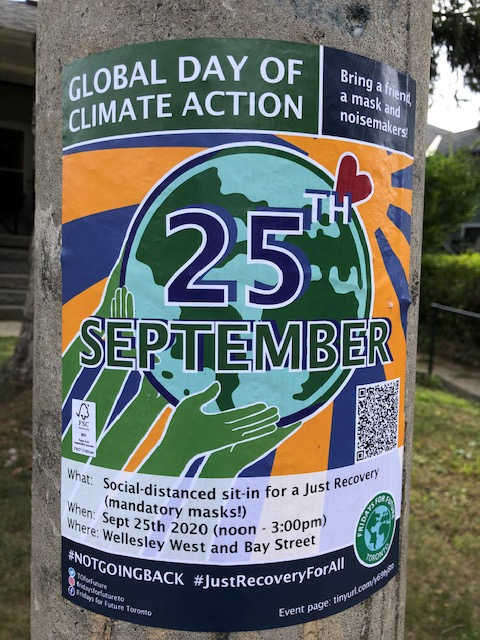 Poster for the Global Day of Climate Action