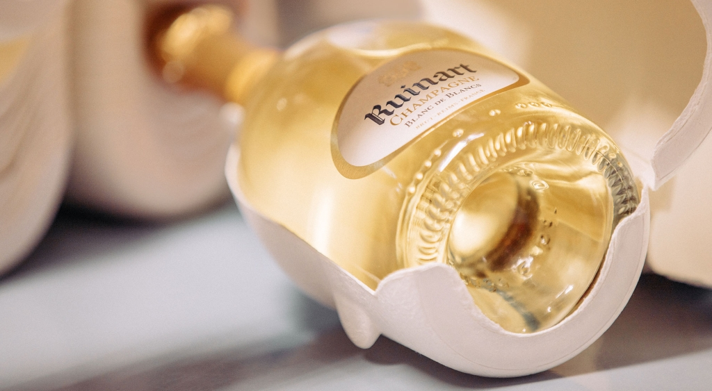 Ruinart Champagne's new eco-friendly packaging