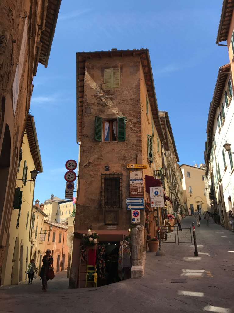 hilly town of Montepulciano